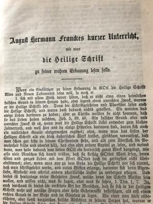 Francke 1702