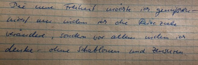 Tagebuch 1990