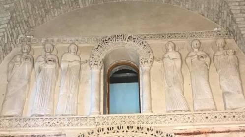 Märtyrer in Gewändern der Pax Romana. Die 300 Jahre zurückliegenden Christenverfolgungen waren im kulturellen Gedächtnis bedeutsam.