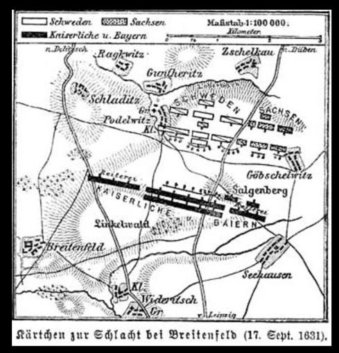 Im Heft Abb. 6: Darstellung 1631 im Jahre 1885, oben rechts die fragliche Gegend des Referenzweges