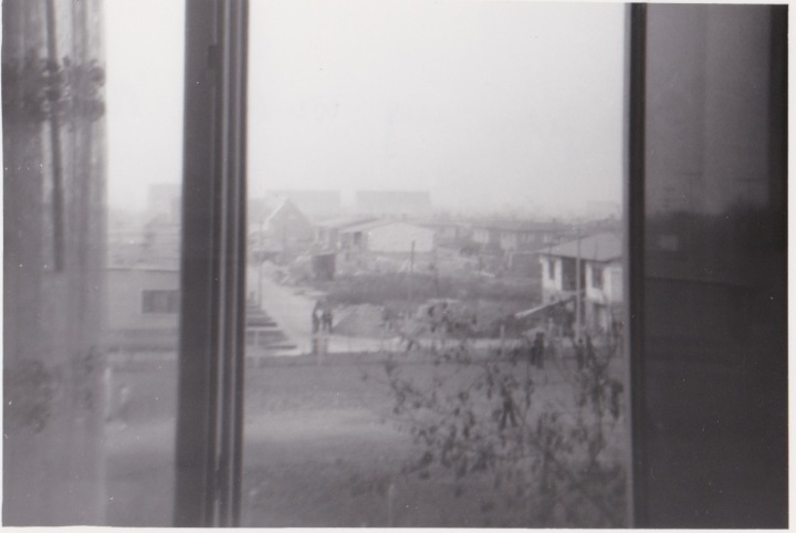 1986, Blick aus meinem Fenster